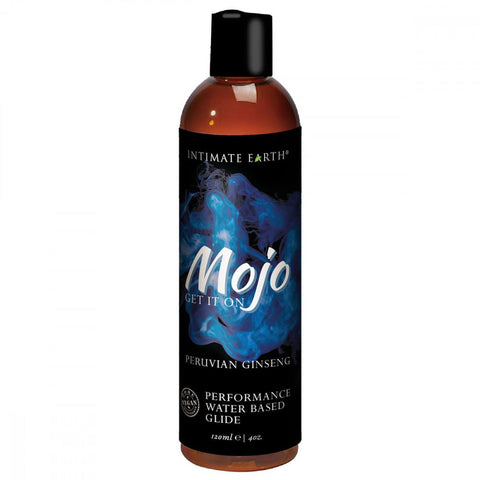 MOJO Performance Water-Based Glide with Peruvian Ginseng  Lubricants Intimate Earth Peepshow Toys