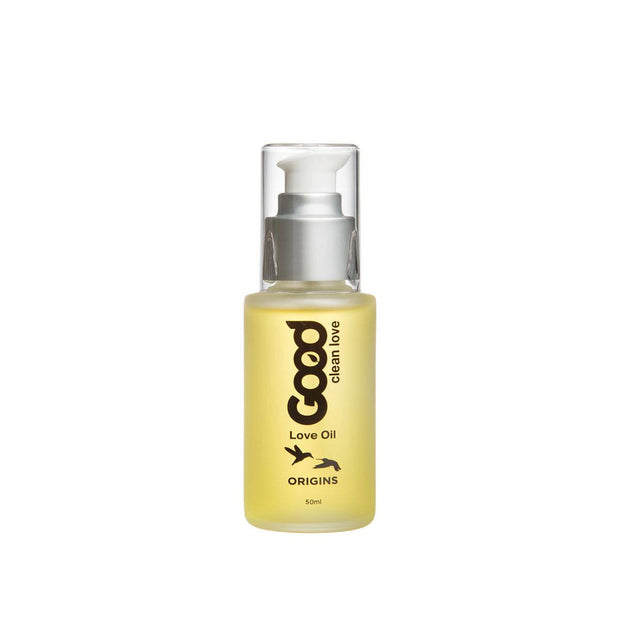 Good Clean Love Oil 50 ml Pump  Massage Oil Good Clean Love Peepshow Toys