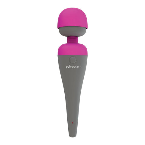 BMS PalmPower Wand Massager With Removable Silicone Cap  Wand Massager BMS Peepshow Toys