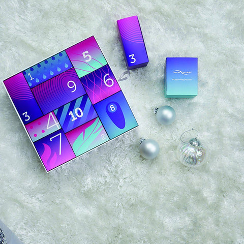 We-Vibe Discover Gift Box – 10 Toys, Including We-Vibe Tango and Womanizer Starlet  Couples Vibrator We-Vibe Peepshow Toys
