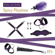 Rianne S Kinky Me Softly Bondage Collection with Storage Bag - Hamilton Park Electronics