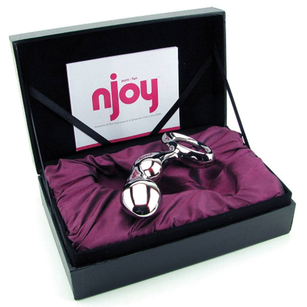 Njoy Pfun Steel Prostate Massager
