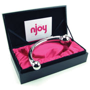 Njoy Pure Wand Double Ended Steel Dildo