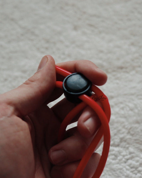 Blush Stay Hard Silicone Double Loop Cock Ring  Cock Ring Blush Novelties Peepshow Toys