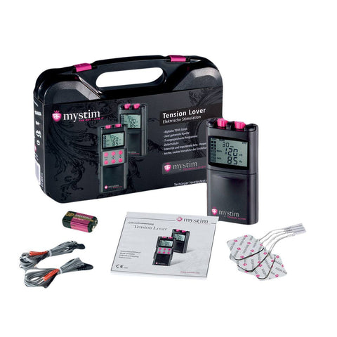 Mystim Tension Lover Digital Electric Stimulation Kit   Mystim Peepshow Toys