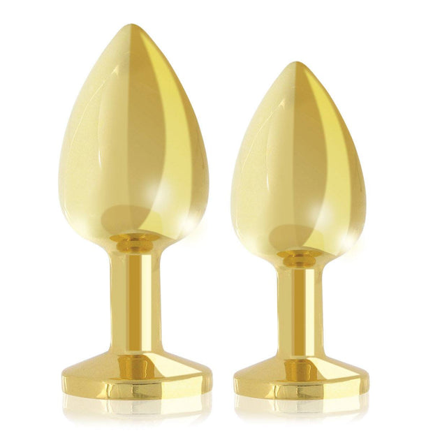 Rianne S Gold Booty Plug Luxury Set (2 pieces)
