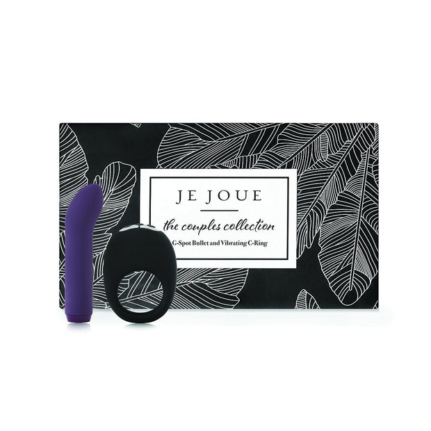 Je Joue Couples Collection with Silicone G-Spot Bullet and Mio Vibrating Cock Ring  Couples Vibrator Je Joue Peepshow Toys