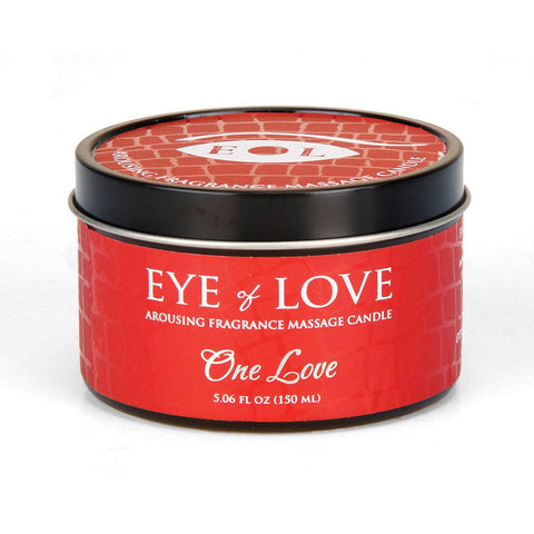 Eye of Love Pheromone Massage Candle   Eye Of Love Peepshow Toys