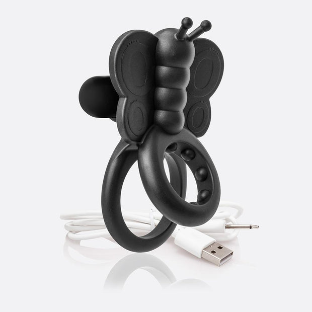 Charged Monarch Silicone Wearable Vibrating Cock Ring by Screaming O  Cock RIng Screaming O Peepshow Toys