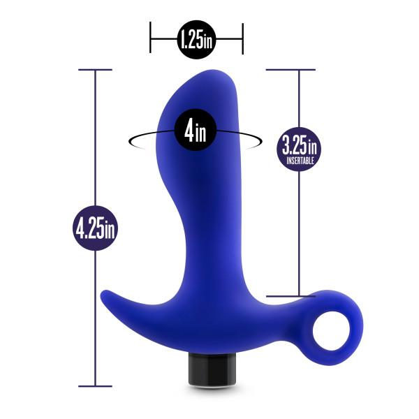 Performance Plus Supra Vibrating Prostate Massager by Blush Novelties