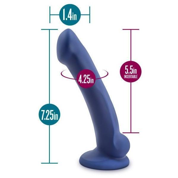 Real Nude Ergo Mini Silicone Suction Cup Dildo by Blush Novelties
