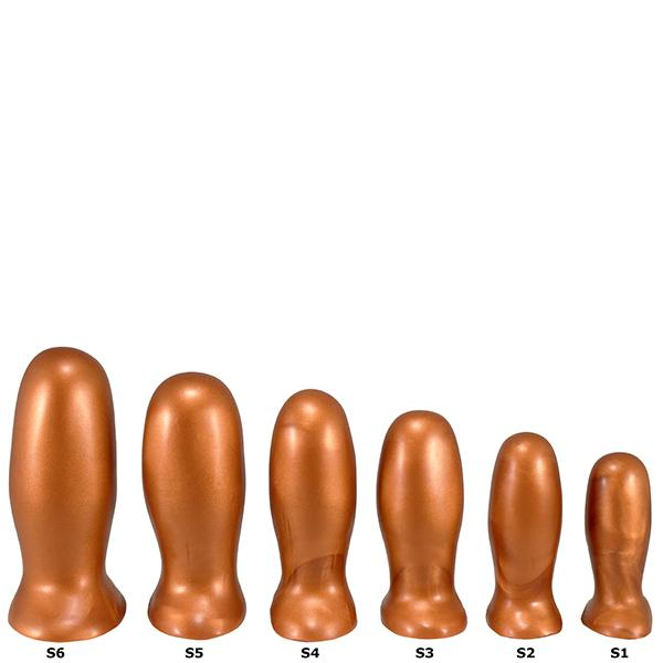 SquarePegToys® Blunt Plug SuperSoft Anal Stretching Plugs 6 Sizes