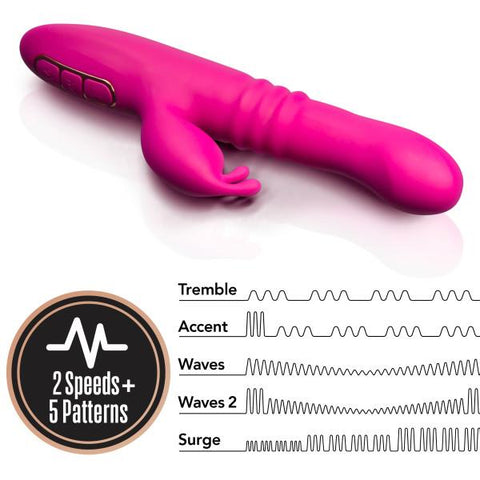Lush Kira Rotating Thrusting Rabbit Vibrator by Blush Novelties