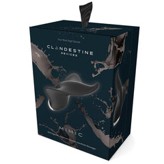 Black MIMIC Manta Ray Packaging