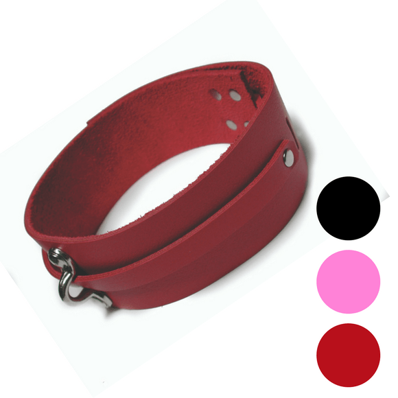 Leather Collar (more colors available)