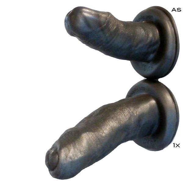 SquarePegToys® Dirk Harness SuperSoft Silicone Suction Cup Dildo - 2 Styles