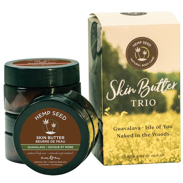 Earthly Body Skin Butter Gift Set  Massage Oil Earthly Body Peepshow Toys