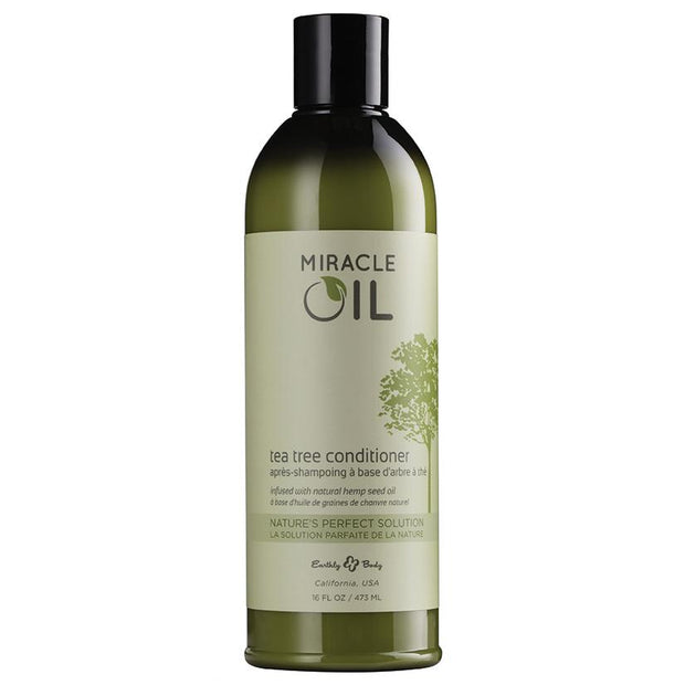 Earthly Body Miracle Oil Tea Tree Conditioner 16oz  Conditioner Earthly Body Peepshow Toys