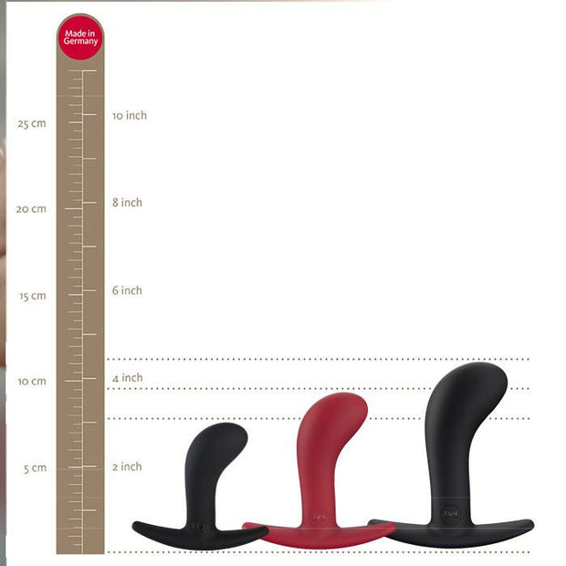 Fun Factory Bootie Set - Small, Medium and Large Silicone Anal Plugs  Anal Plug Fun Factory Peepshow Toys