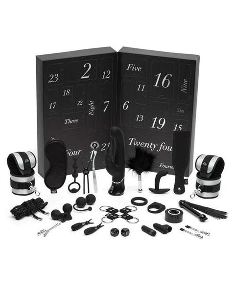 Fifty Shades of Grey There's Only Sensation 24-Day Advent Calendar Gift Set  Bondage Kit LoveHoney Peepshow Toys