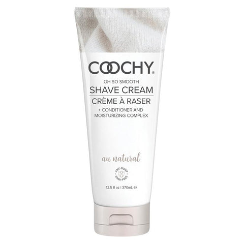 Coochy Oh So Smooth Shave Cream - Au Natural  Shaving Cream Classic Erotica Peepshow Toys