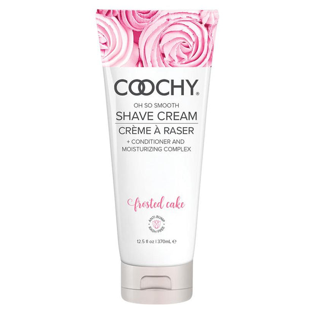 Coochy Oh So Smooth Shave Cream - Frosted Cake  Shaving Cream Classic Erotica Peepshow Toys