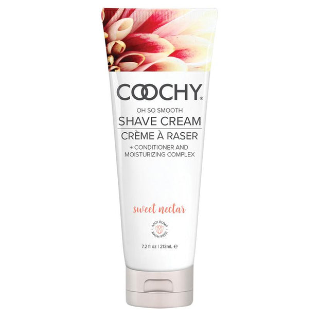 Coochy Oh So Smooth Shave Cream - Sweet Nectar  Shaving Cream Classic Erotica Peepshow Toys
