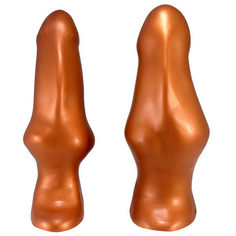 SquarePegToys® Happy Hour Plug SuperSoft Bronze Silicone  Anal Plug SquarePegToys® Peepshow Toys