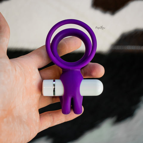 Blush Noje C3 Cock Ring with Rechargeable Vibrating Bullet
