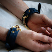 Bondage Couture Wrist Cuffs by NS Novelties  Wrist Restraints NS Novelties Peepshow Toys