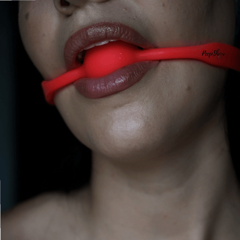 Quickie Silicone Medium Ball Gag - Hamilton Park Electronics