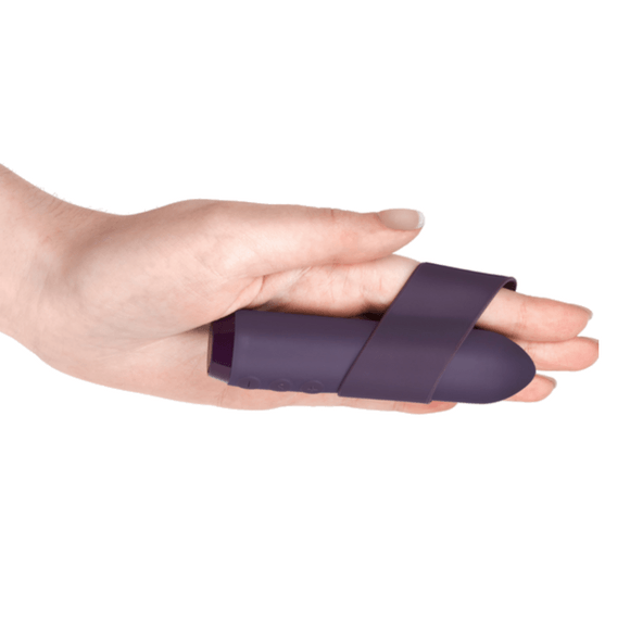 Je Joue Silicone Classic Bullet With Ergonomic Finger Sleeve