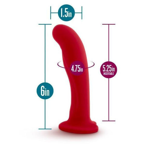 Temptasia Jezebel Silicone Dildo by Blush Novelties  Dildo Blush Novelties Peepshow Toys