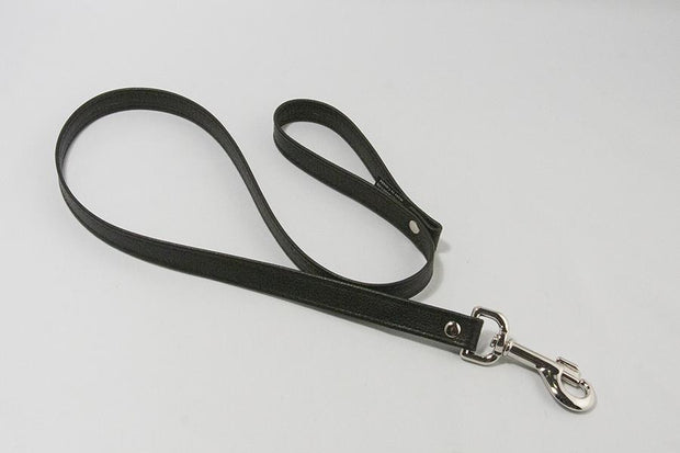 Aslan Leather Leash - Real Leather 3 Feet Long  Collar & Leash Aslan Leather Peepshow Toys