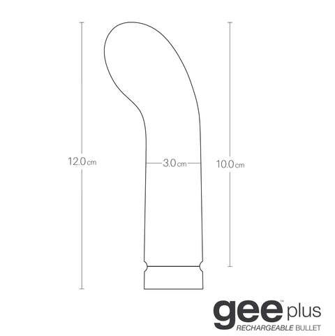 VeDO GEE Plus Rechargeable Silicone G-Spot Vibrator