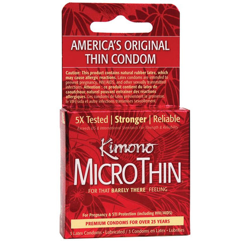 Kimono MicroThin Ultra Thin Condoms - Hamilton Park Electronics