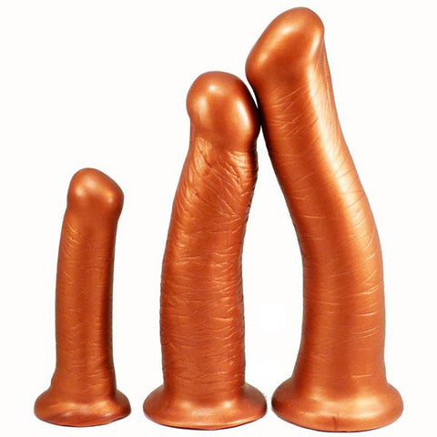 SquarePegToys Pounder SuperSoft Long Dildo, 3 Sizes  Dildo SquarePegToys® Peepshow Toys