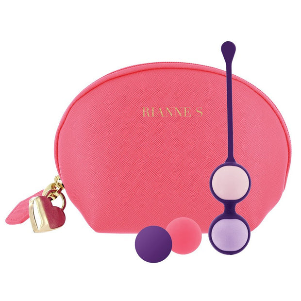 Rianne S Pussy Play Balls set of Kegel Weights  Kegel Exerciser Rianne S Peepshow Toys