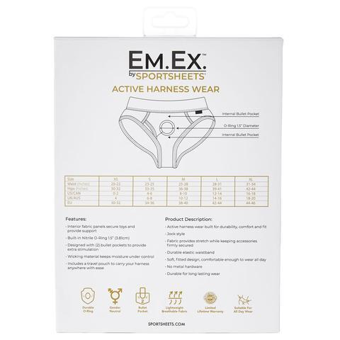 Em.Ex. by Sportsheets Active Harness Wear Contour Harness - Hamilton Park Electronics