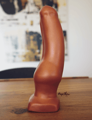 SquarePegToys® Little Kevin SuperSoft Silicone Anal Plug Dildo  Anal Plug SquarePegToys® Peepshow Toys