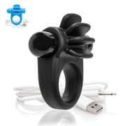 Charged Skooch Silicone Rechargeable Cock Ring With Fins from The Screaming O  Cock RIng Screaming O Peepshow Toys