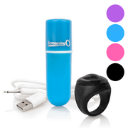 Charged Vooom Remote Control Rechargeable Bullet Vibe - Hamilton Park Electronics