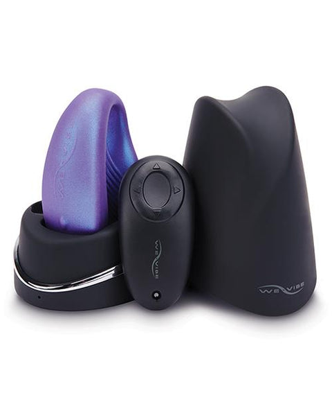 We-Vibe Sync Wearable Couples Vibrator with Dual Motors - Cosmic Purple  Couples Vibrator We-Vibe Peepshow Toys
