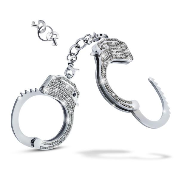 Blush Temptasia Bling Cuffs Sparkly Handcuffs  BDSM Blush Novelties Peepshow Toys