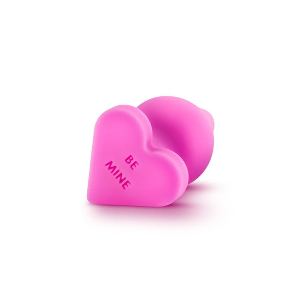 "Naughty Candy Heart Butt Plug - ""Be Mine""  Anal Plugs Blush Novelties Peepshow Toys"