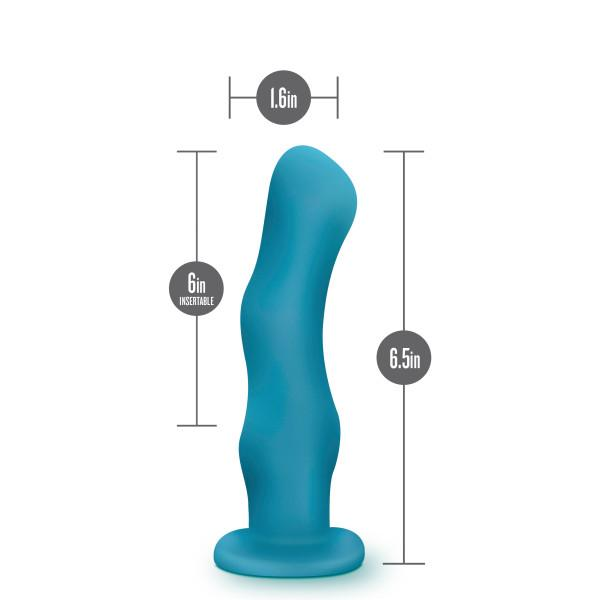 Blush Impressions N3 Vibrating Dildo with Suction Cup  Vibrator Blush Novelties Peepshow Toys