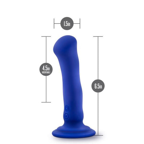 Blush Impressions N2 Vibrating Dildo with Suction Cup   Blush Novelties Peepshow Toys
