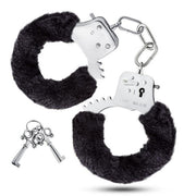 Blush Temptasia Cuffs Fuzzy Fur Handcuffs  BDSM Blush Novelties Peepshow Toys