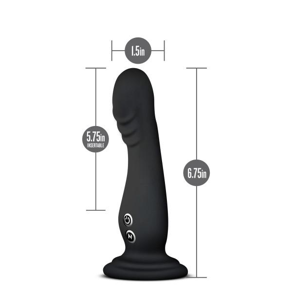 Blush Impressions N1 Vibrating Dildo with Suction Cup  Vibrator Blush Novelties Peepshow Toys