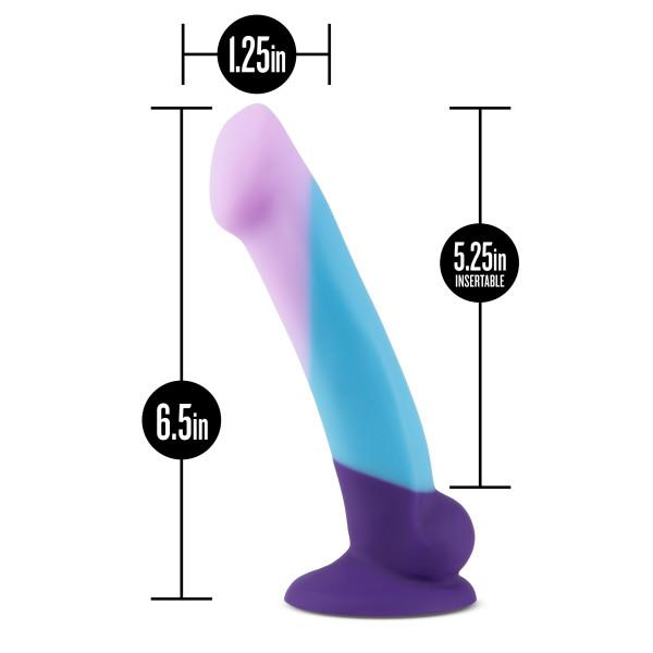 Blush Avant D16 Purple Haze Silicone Dildo with Suction Cup  Dildo Blush Novelties Peepshow Toys